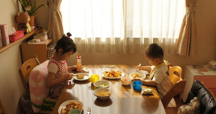 子どもたちの食事は大事