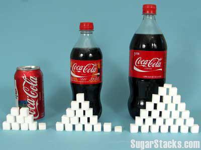 コーラに含まれる砂糖