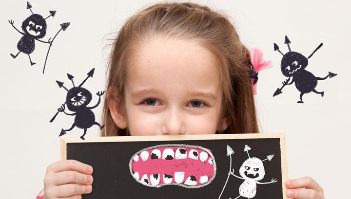 糖質制限で歯がツルツル